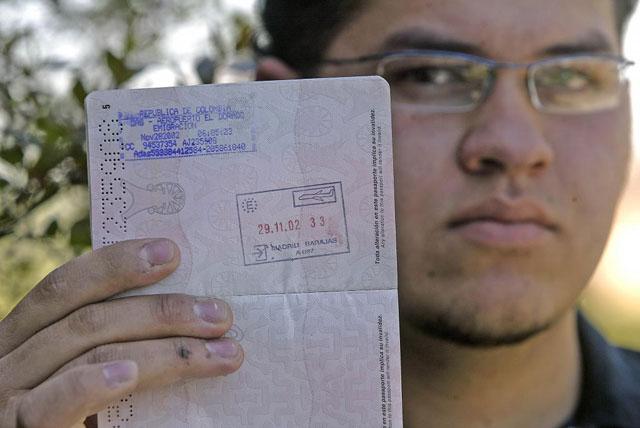 Joven pasaporte