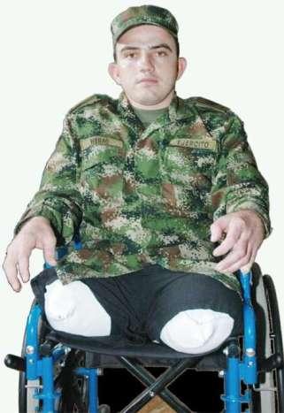 Soldado sin piernas