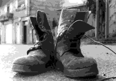 Mis botas militares
